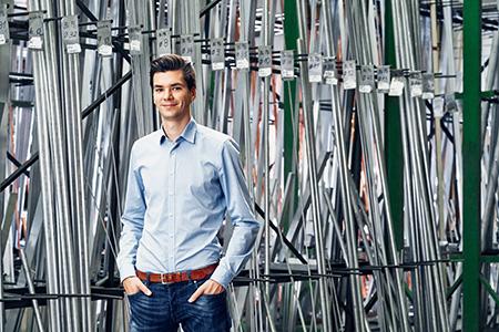 Marius Welte, Geschäftsführer